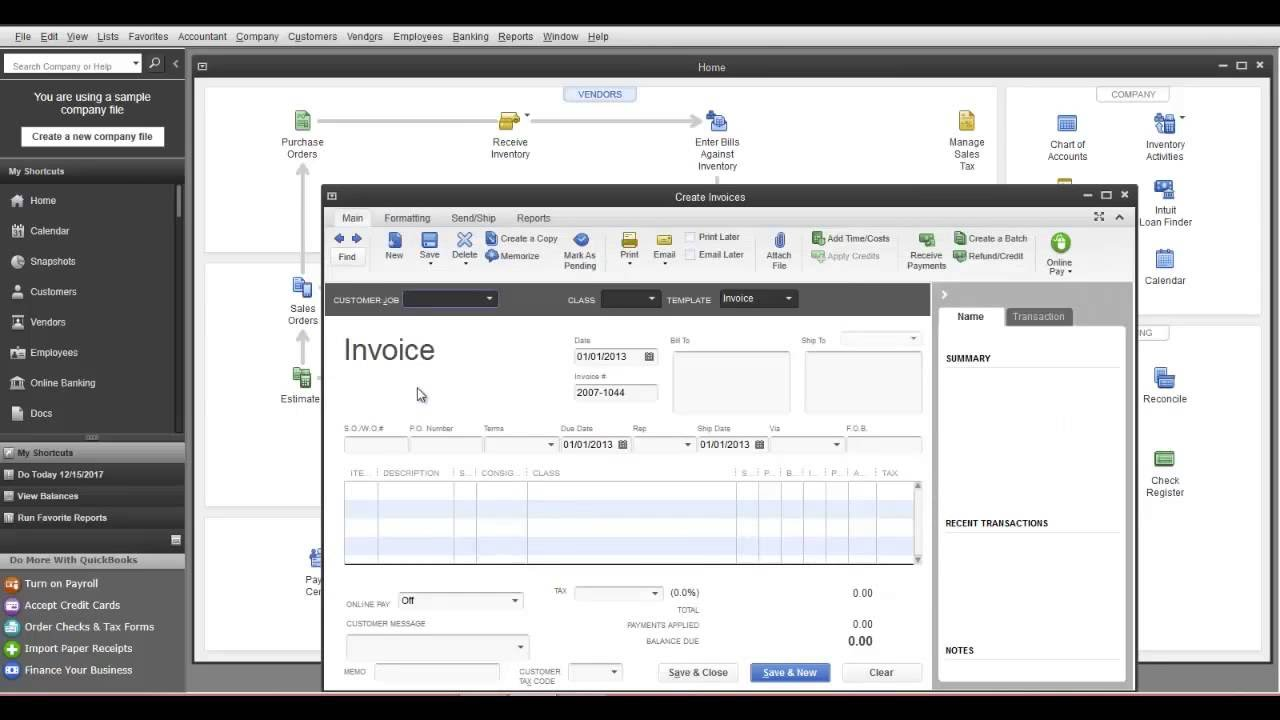 how to add tax in quickbooks