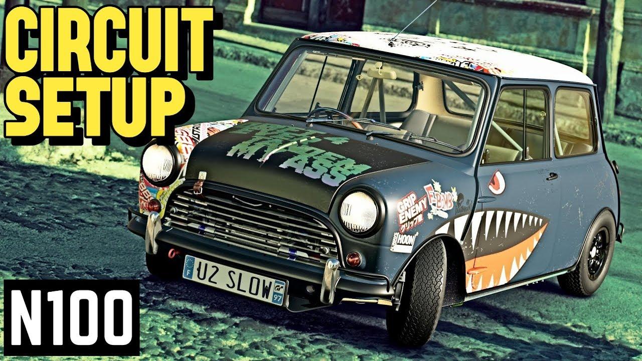 Gt Sport N100 1965 Mini Cooper Circuit Setup Tutorial Youtube