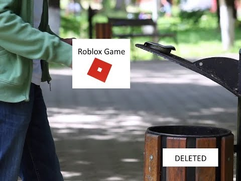 Roblox (Tutorial): How To Delete Your Roblox Game! (V1 ...