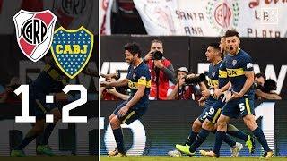 2 Mal ROT im SUPERCLASICO: River Plate - Boca Juniors 1:2 | Highlights | International | DAZN