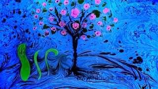 Рисование на воде (Эбру)(Красочное шоу рисование на воде. Подробнее на сайте http://raduga-mir.com.ua/drawing-on-water.html., 2014-11-08T19:52:27.000Z)