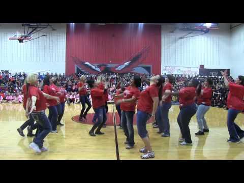 Liberty High School Football Moms' Dance