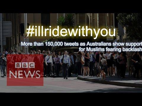 Sydney cafe: Australians say to Muslims