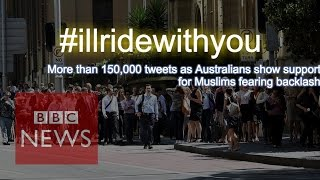 "Sydney cafe: Australians say to Muslims ""I"