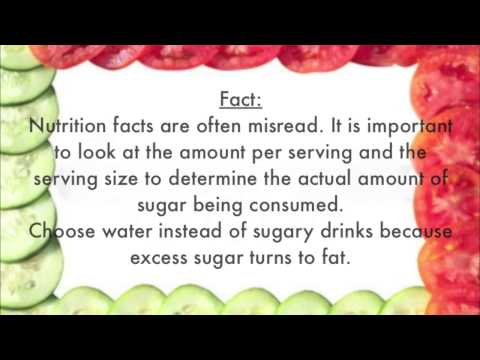 Myth and Facts about Nutrition