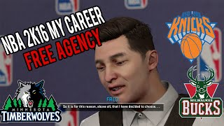 vuclip NBA 2K16 My Career | NBA FREE AGENCY CRAZINESS!!!