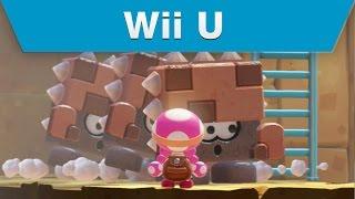Wii U - Captain Toad: Treasure Tracker Mini-Universes Galore Trailer