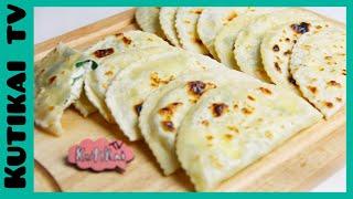 Кутабы. Как приготовить Кутабы(Сыр+ Зелень)Вкусно,Быстро!
