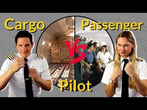 CARGO vs PASSENGER PILOT! Captain Joe vs Dutchpilotgirl