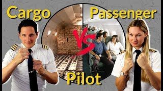 CARGO vs PASSENGER PILOT! Captain Joe vs Dutchpilotgirl