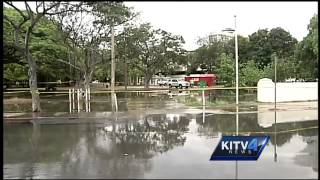 Water quality testing results released following sewage spill