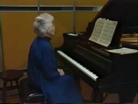 VIDEO: The Teaching of Artur Schnabel - Eunice Norton, 1987 (17/18)