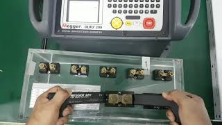 Megger DLRO 200 Repair and Calibration by Dynamics Circuit (S) Pte. Ltd.