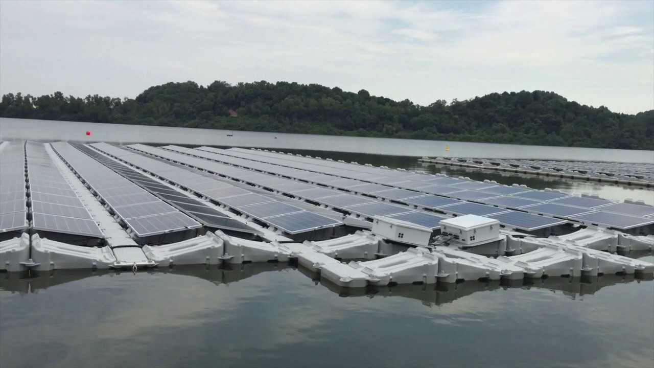 Image result for tengeh floating solar