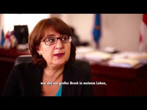 """""""Warum Deutsch?"""" mit Maia Panjikidze"""