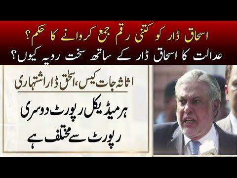 What Orders Annouced By Accountibility Court To Ishaq Dar? | Neo News