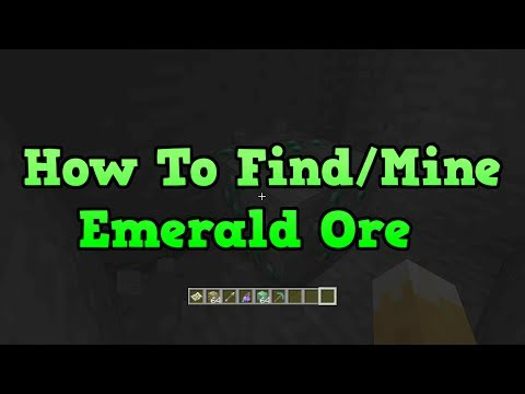 Minecraft Xbox 360 + PS3: How to Find Emeralds (Emerald Ore)