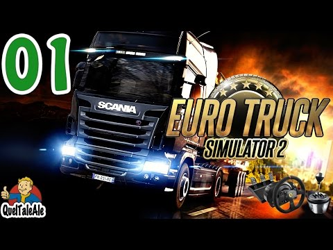 Euro Truck Simulator 2 - Gameplay ITA - T300 + TH8A - #01 - Si parte