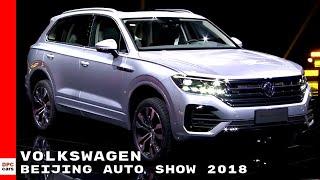Volkswagen At Beijing Auto Show 2018