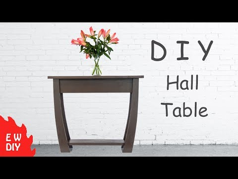DIY Hall / Console Table