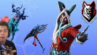PLAYING WITH SKIN KRAMPUS FORTNITE #FORTNITE #RAYITO #YOUTUBE #TENDENCIA #YOUTUBE #YOUTUBE #PS5 #LEVELUPSHOW