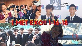 I MET EXO!!😭💓// EXO IN DUBAI 2018// EXO POWER DUBAI FOUNTAIN 💪 | ITSJEMHERE