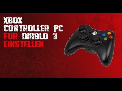 Xbox 360 Controller (PC) für Diablo 3 konfigurieren