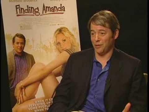 MATTHEW BRODERICK FINDING AMANDA ANS ENT