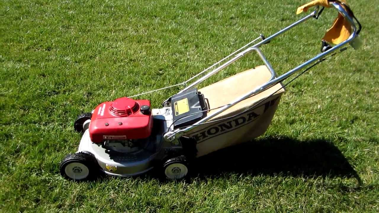 Honda Hr195 Lawn Mower Final Look Amp Startup Craigslist