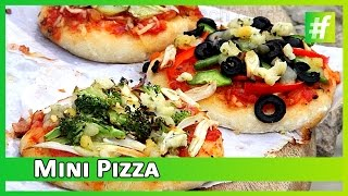 #fame food -​​ How to make Pizza at Home - Mini Pizza Recipe by Amrita Rana
