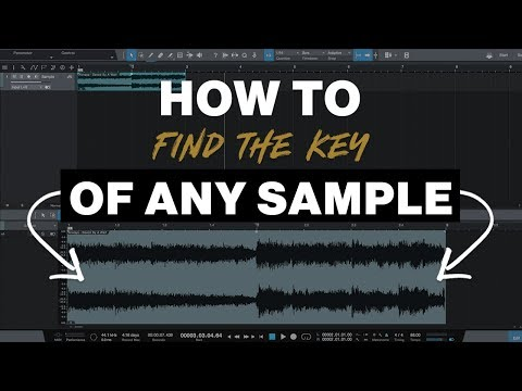 How to Find the Key and BPM of any Sample in Studio One 3