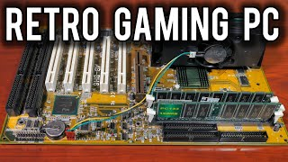 Restoring a 1998 Retro Gaming PC from Old Parts | MVG