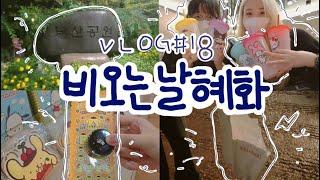 [vlog #018] 브이로그    비 오는 날 혜화에…