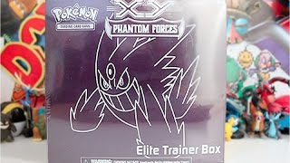 Opening A Pokemon XY Phantom Forces Elite Trainer Box!