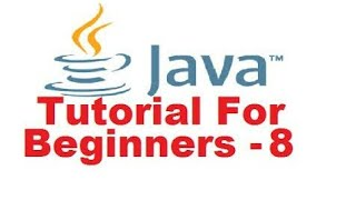 Java Tutorial For Beginners - 8 switch Statement