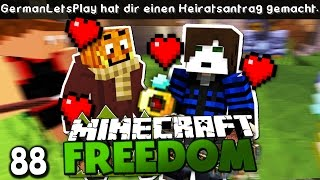HEUTE WIRD GEHEIRATET! ✪ Minecraft FREEDOM #88   Paluten