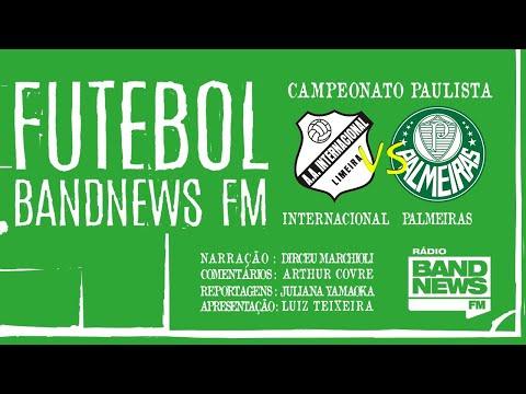 Inter de Limeira x Palmeiras - Campeonato Paulista - 14/03/2020