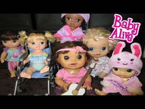 BABY ALIVE Babies Sing A Song For Audrey To Come Back Home!