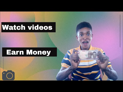 How to make money online in Nigeria by watching videos