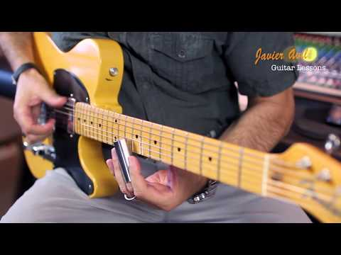 Robert Johnson Style - Telecaster Hot Rod (Javier Aviles)