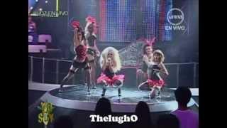 Yo Soy Cristina Aguilera (25/07/2012) Lady Marmalade 'Moulen Rouge'