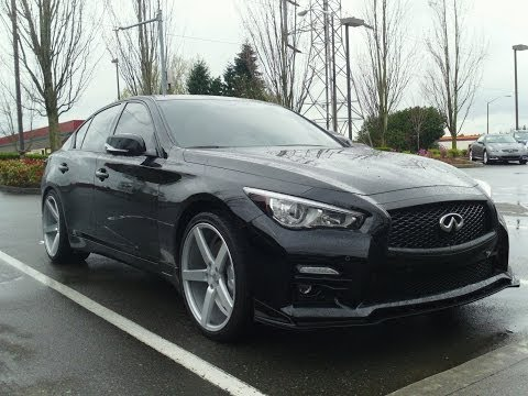 2014 Infiniti Q50 show car review - Let's turn your 2014 Q50 or 2015 Q50 into something special