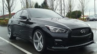 2014 Infiniti Q50 show car review - Let