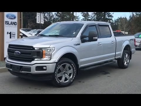 2019 Ford F-150 XLT 302A 3.5L SuperCrew Review| Island Ford