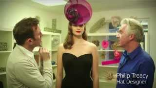 Hat Hair How To with John Vial and Philip Treacy
