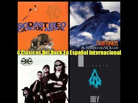 4 Clasicos Del Rock En Español Internacional Soda,Caifanes,Heroes,La Ley