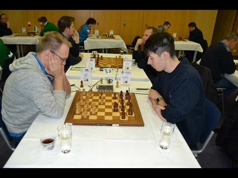 GM Ragger vs GM Huschenbeth German Bundesliga 2016 | Grandma