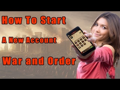 War and Order Guide -Create and Bind War and Order Farm Account