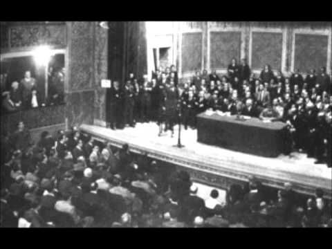Discurso de Jose Antonio Primo de Rivera ante el parlamento en referencia a Cataluña