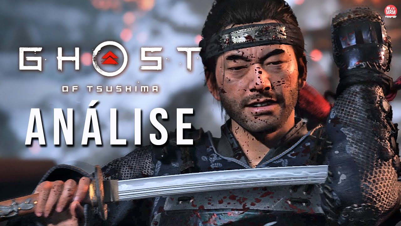 GHOST OF TSUSHIMA - ANÁLISE / REVIEW com GAMEPLAY SEM SPOILERS | 4k no PS4 Pro